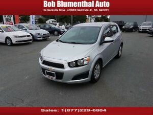 2012 Chevrolet Sonic LT Hatch w/ Auto, BT, Cruise, Heated Seats