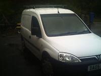 05 Combo CDTI 1.7 Diesel Van White Unlettered