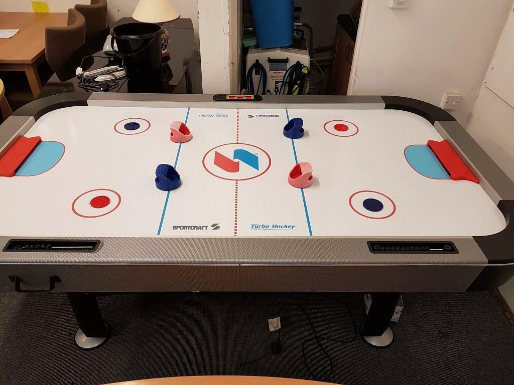 Sportcraft Turbo Air Hockey Table COST PRICE In Peterlee County - Sportcraft turbo air hockey table