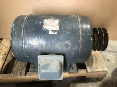 Wagner 256-11486-09 10hp Electric Motor 1750rpm 208220440v 3 Phase Dp