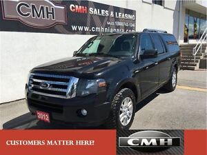 2012 Ford Expedition Max LIMITED AWD 4X4 NAV ROOF CAM BOARDS *CE
