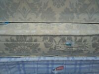 Double divan bed with mattress. Good quality