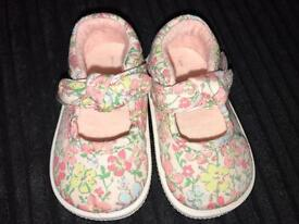 Baby girl size 1 next shoes in immaculate condition.