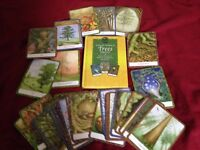 Tree oracle cards with hardback instructional book.