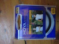 Hoya 58mm screw on camera lens UV filter