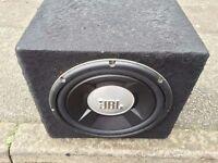 JBL GTO 1200W subwoofer + Zero 400 amplifier