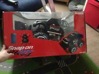 Snap on racing rc truck new in box never been used