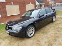 2002 BMW 745I AUTOMATIC FULL HOUSE LOADED £2450 NO SWAP NO LAST PRICE ASKING PRCE CASH 07404237708