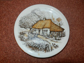 Cottage Collectors Plate