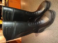 Safety boots, size 8 (42) - brand new!
