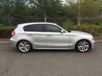 BMW 120 2.0D SPORT + 2005 55 + 5 DR + SILVER + 6 SPEED MANUAL