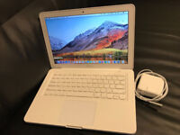Macbook A1342 2.4Ghz/8GB/256GB SSD MacOSX High Sierra Mint! Now £249