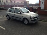 Renault Clio 2003. 87000 milage, 2 owners from new