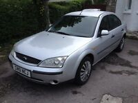 51 Reg Ford Mondeo 1800cc. MOT November 2016. Drives really well. Bargain to clear at just £275ono.