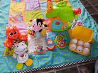 Large play mat and toy bundle