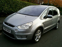 Ford S-Max 2.3 Titanium Auto 2008 (58 Reg) Very Rare 5 Seater with Load Space 12 Months MOT