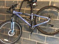 Mountain bike (Carrera Vulcan) for sale - Barely used