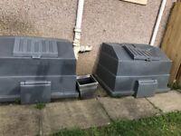 Storage boxes free to uppick