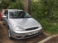 Ford Focus 1.6 saloon drives very very well new disks and pads