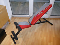 Weight Bench & Dumbbell Set