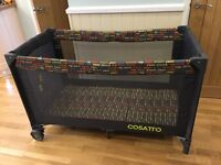 Cosatto 4 in 1 travel cot play pen 40 winks