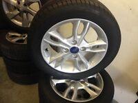 Ford Fiesta alloy wheel tire size 195–50 – 15