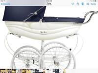Coach built silver cross balmoral pram