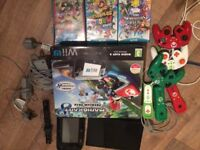 wii u premium 32 GB mario kart pack with extras