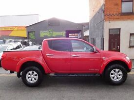 Mitsubishi L200 Trojan 4x4 not warrior 2011 in as new condition NO VAT (44)