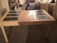 Wood dining table for sale