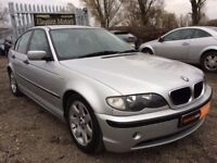 2002 BMW 320d **FULL SERVICE HISTORY**MOT FEB 2018**Fog Lights**Aux&Blutooth**Alloy Wheels