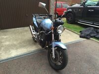 Honda CBF600 restricted for A2 licence
