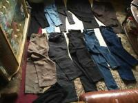 Ladies bundles trousers used good condition size : 14-16 used £12