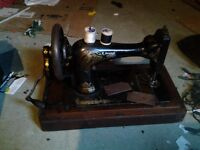Singer antique hand sewing machine