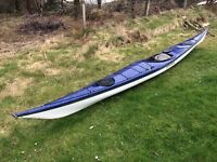 Blue Explorer Fibreglass Expedition Kayak