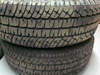 For sale a set of 265 70 r18 Michelin tires
