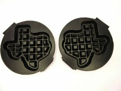 Carbons Rt-p Waffle Baker Maker Grid Plates Shape Of Texas Replacement Set New