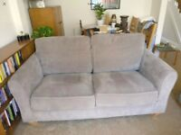 Grey 2 seater sofa for sale