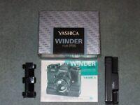 Yashica 'FR' winder NEW