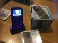 TT COMET SOS easy to se phone new boxed SIM card new too