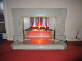 Electric Fire - vintage, retro, mid-century, 1960s, Sunhouse Royal Fire