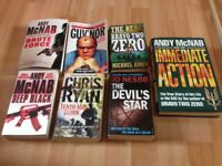Book Bundle Andy McNab, Chris Ryan & others