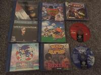 Sega Dreamcast cast + games
