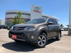2015 Toyota RAV4 XLE AWD - One-Owner / No Accidents / TCUV