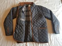 Next - Boys Aged 14 - Quilted Jacket - Grey