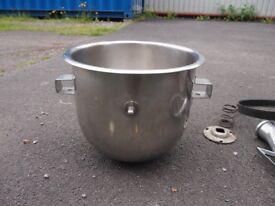 Catering mixer bowl