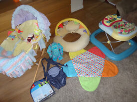 Baby Walker, Baby Carrier, Baby Seat Support, Moses Basket