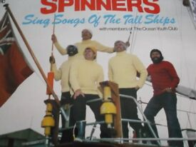 Spinners LP records