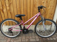 GIRLS MOUNTAIN BIKE,APOLLO VIVID, EXALLENT CONDITION.