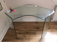 John Lewis Staten Glass Corner Desk x 2